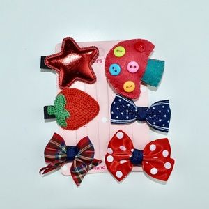 Hair Accessories For Baby Girls Handmade 5 pieces